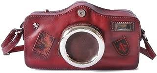 Pratesi Camera Cross-Body Bag - B444 Bruce (Chianti)
