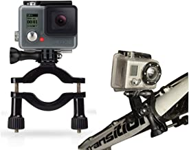 Navitech Cycle/Bike/Bicycle & Motorbike Roll Bar Mount Compatible with The GoPro Hero 4 Session