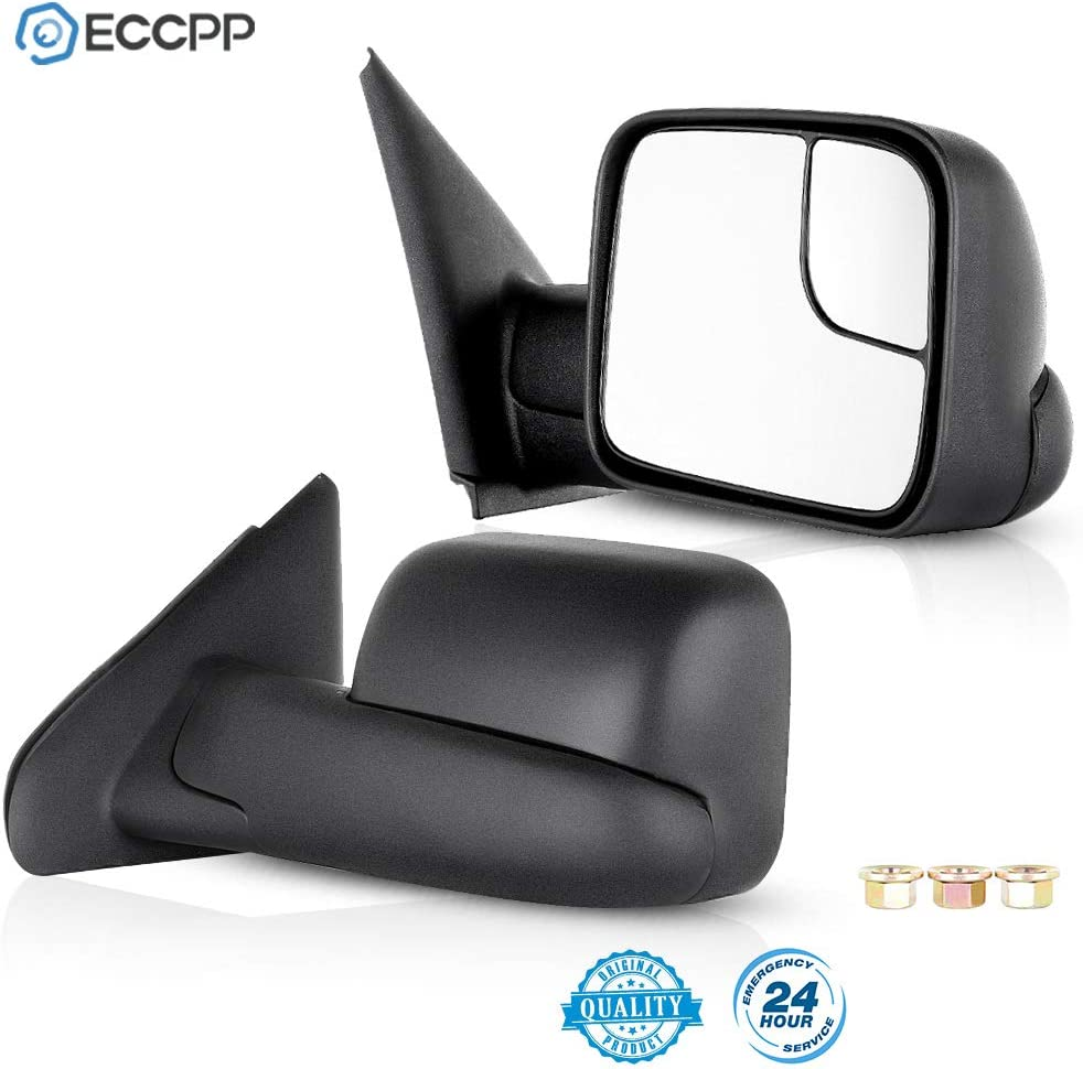 ECCPP Towing Mirrors fit for 2003-2008 Max 90% OFF Dodge Manufacturer OFFicial shop 2500 3 Ram 1500