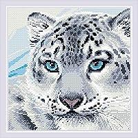 RIOLIS AM0040 ヒョウ柄 ダイヤモンドモザイクキット 113⁄4インチ x 113⁄4インチ 12色