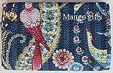 Mango Gifts King Size Kantha Quilt weiß, Kantha Decke, Bettdecke, King Kantha Tagesdecke, Bohemian Bettwäsche, Kantha Größe 228 x 274 cm