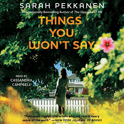Things You Won't Say audiobook cover art
