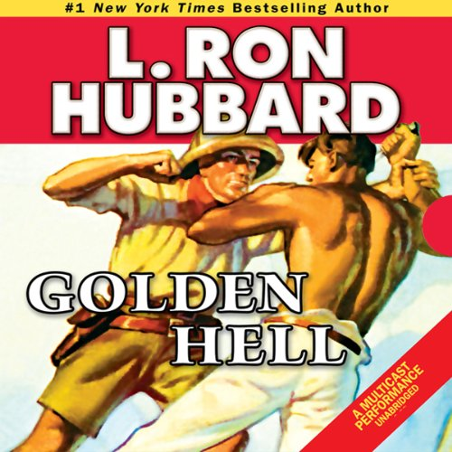 Golden Hell audiobook cover art