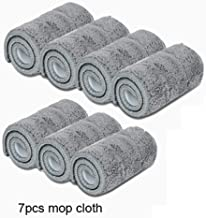 Mop Replacement Wipe 5/7/10PCS Microfiber Floor Mop Self-wetting and Cleaning Paste Mop Dry Cleaning Mop Floor Cloth House...