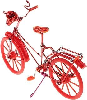 1:10 Fahrradmodell Miniatur Dreirad Figur Geldgeschenk Metall Dekoration