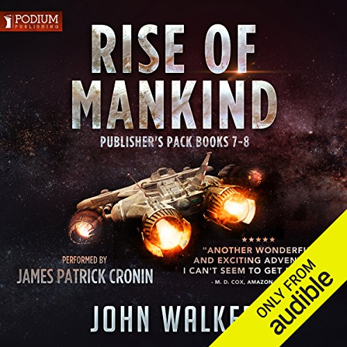 Rise of Mankind, Books 7-8 audiobook cover art