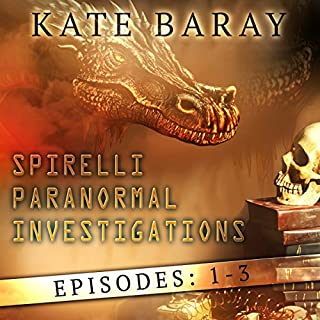 Spirelli Paranormal Investigations: Episodes: 1-3                   By:                                                                                                                                 Kate Baray                               Narrated by:                                                                                                                                 Roberto Scarlato                      Length: 5 hrs and 50 mins     2 ratings     Overall 4.5