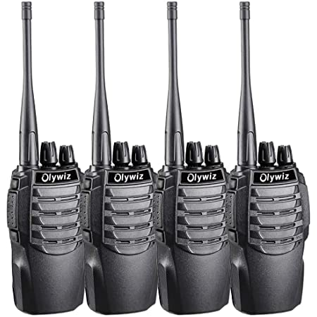 Olywiz 826 トランシーバー 無線機 携帯型 2W 超長距離タイプ 簡単操作 災害·地震 緊急対応 総務省技術基準適合商品【日本語説明書付き】 4台セット …