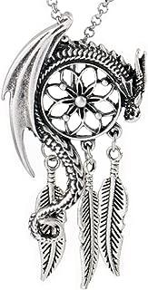 Paw Paw House Dragon Necklace Norse Viking Snake Ouroboros Talisman Pagan Wicca Spiritual Jewelry
