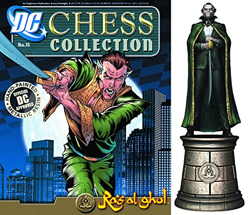 dc comics Chess Figurine Collection Nº 11 RAS Al Ghul