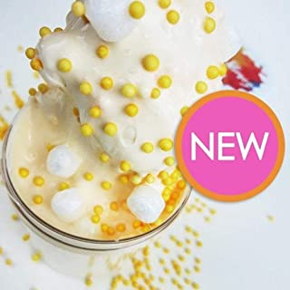 Orange Creamsicle Slime (Scented) - Thick & Glossy/Foam Beads/Satisfying