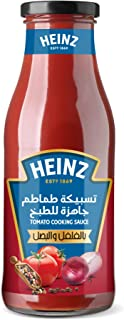 Heinz Tasbeeka Tomato Cooking Sauce With Onion And Black Pepper, 290 ml (Pack of 1)