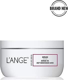 L'ange Hair BORAGO Oil Hair Mask - Keratin Repair Treatment - Organic Deep Conditioning Masque - Moisturizing & Hydrating Complex for Dry or Damaged Hair & Scalp, 10 Fl Oz, MSRP $40.00