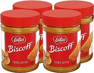 Lotus Biscoff - Cookie Butter Spread - Creamy - 3.5 Pound (4 Count) - non GMO + Vegan
