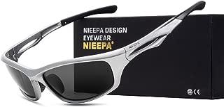 NIEEPA Polarized Sports Sunglasses Tr90 Durable Glasses for Men Cycling Golf Man