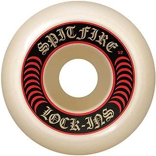 Spitfire Formula Four Lock-Ins Skateboard Wheels 53mm / 101A (Set of 4)