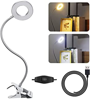 Skymore Lampe de Tatouage, Lampe Portative d'USB LED, Lampe de Loupe, Lampe de Bureau de Bras D'oscillation de Tube de Mét...