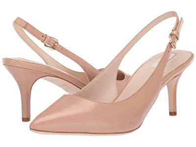 Cole Haan 65 mm Vesta Slingback (Nude Leather) Women