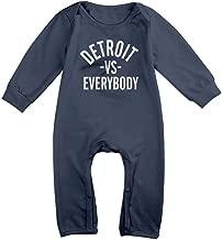 Takemeaway Detroit Vs Everybody Baby Onesie Bodysuit Newborn Romper