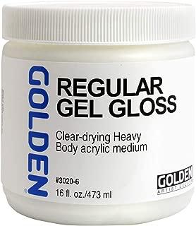 Golden Artist Colors - Regular Gel Gloss - 16 oz Jar