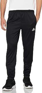 Adidas Side Pocket Front Logo Elastic Cuff Pants for Men - Black, XL