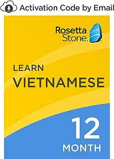 rosetta stone vietnamese
