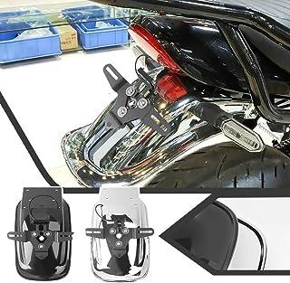 XX eCommerce Motorradzubehör für Z 900 RS 18 19 20 21 ABS Hinterreifen Hugger Kotflügel Spritzschutz Kotflügel für Kawasaki Z900RS Z 900RS 2018 2019 2020 2021 (Chrom)