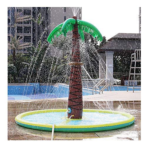 PIANAI Juguete De Aspersor De Jardín De Palmera Inflable De 70 Pulgadas,Summer Outdoor Toys 150 x 180cm