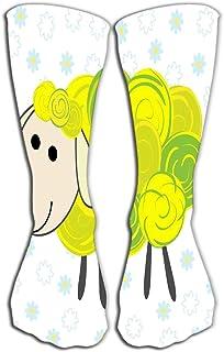 akingstore, Calcetines altos Novedad Compresión Calcetines largos para mujeres y niñas 19.7