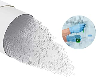 YUCHENGTECH 1000 st/parti 100 mm glas kapillärrör ID 0,5 mm OD 0,7 mm punkt kapillärrör öppen ände