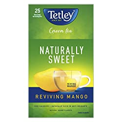 Tetley Green Tea Reviving Mango Bag, 32 g