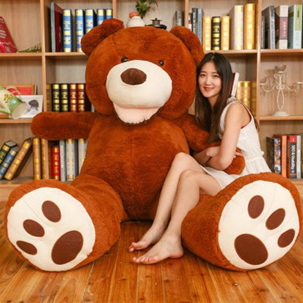 HUOQILIN Max 67% OFF Bear Plush Toy Doll Purchase : Brown Hug Color