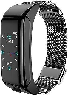 B6 Mannelijke En Vrouwelijke Bluetooth Headset Kleurscherm Smart Armband Sports Multifunctionele Call Two-In-One Smart Wat...