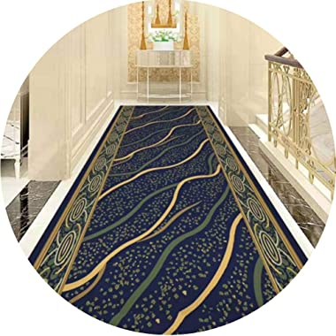 JIAJUAN Hallway Runner Rug Non Slip Hall Entry Corridor Area Rugs Customisable Length for Household Business Office (Color :