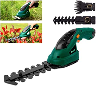 Cordless Rechargeable Grass Trimmer Electric Pruning Shears Scissors Snips Garden Branch Pruning Tools for Lawn Mower