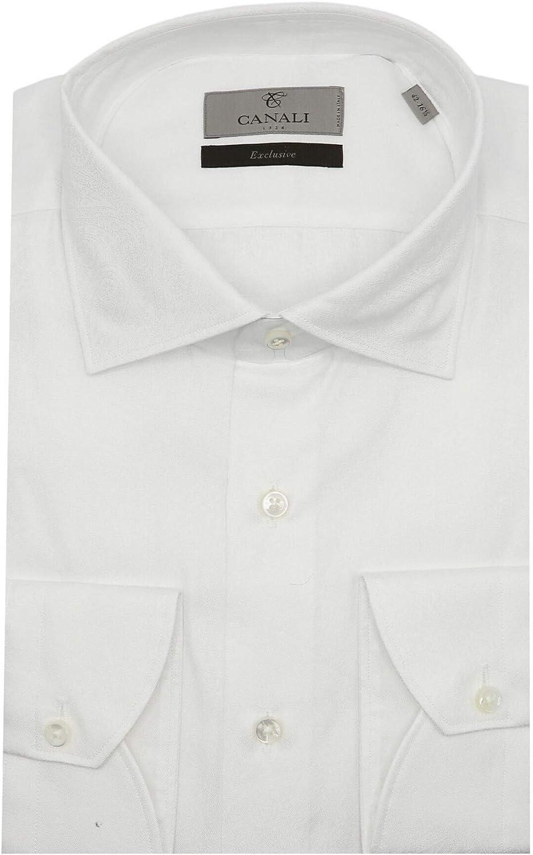 Canali Men's Paisley Design Dress Shirt
