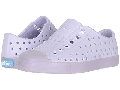 Native Kids Shoes Jefferson (Toddler/Little Kid) (Powder Purple/Transparent) Girls Shoes