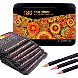 Crayon de Couleurs Professionnel 180 de Qualité Supérieure - Idéal pour les livres de coloriage pour adultes, les étudiants ou les enfants - Fournitures d'art scolaires