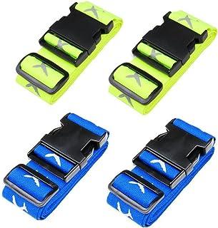 Bagage rem resväska bälten resetillbehör 4-pack