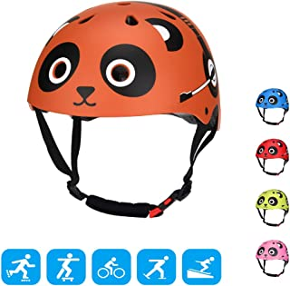 TOURNOW Kids Bike and Skateboard Helmet,  CPSC Certified 11 Air Vents Adjustable Dial Helmet for Rollerblading Skateboard BMX Cycling Skating Bike Scooter(Boys/Girls for 3 to 8 Years Old)