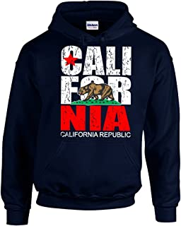 CAMALEN California Republic Most Popular Cali Unisex Pullover Hoodie Hooded Sweatshirt
