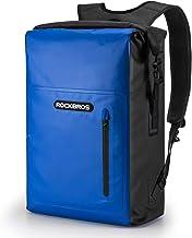 ROCKBROS Dry Bag-rugzak Waterdichte packsack 25L Reisrugzak met voorvak voor varen, zwemmen, strand, kajakken, raften, vissen
