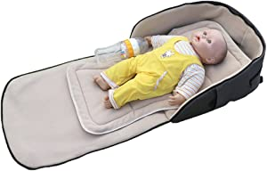 LINAG Baby Crib Portable Folding Travel Cots Infant Nursery Beds For Toddlers Mattress Multifunctional Sleeping Artifact Mommy Diaper Bag
