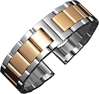 Bonstrap Watch Bands Stainless Steel Metal Watch Band Strap Replacement Bracelet 16mm - 26mm