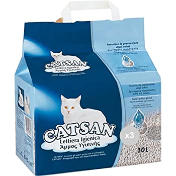 Catsan Set Of 3 Cat Litter Trays 10 Litres Hygienic Pet Care Multicoloured One Size Amazon Co Uk Kitchen Home