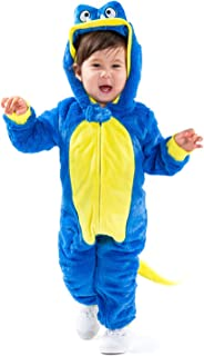 Children's Cute Blue Monster Costume - Infant Kids Baby Monster Halloween Costume