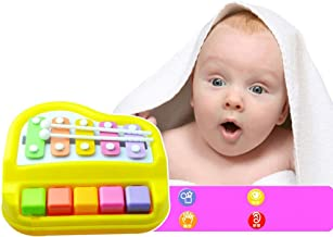 Sealive Baby Kids Educational Musical Toy Preschool Toy Small 2 in 1 Xylophone Piano Toy Knock Piano Music Developmental Toys