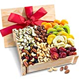 Healthy Abundance Dried Fruit & Nuts Gift Crate