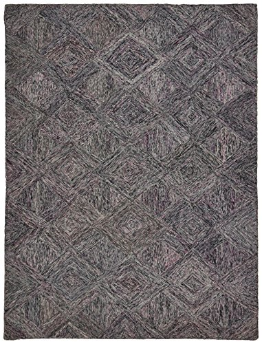 Marca de Amazon - Movian Lom, alfombra rectangular, 175,3 de largo x 114,3 cm de ancho (diseño geométrico)
