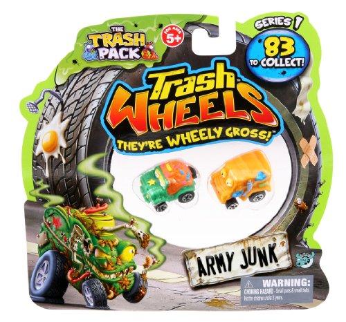 The Trash Pack - Trash Wheels - 2 Véhicules Miniatures - Modèle Aléatoire
